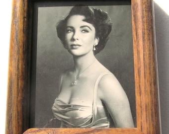 Vintage 1948 Elizabeth Taylor, Actress, Movie Star Photographic Framed Picture