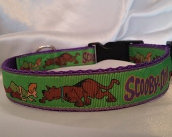 Handmade Scooby Doo Dog Collar-(Matching Lead Available)