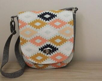 Sandra Saddlebag, Shoulder Bag, Made to Order