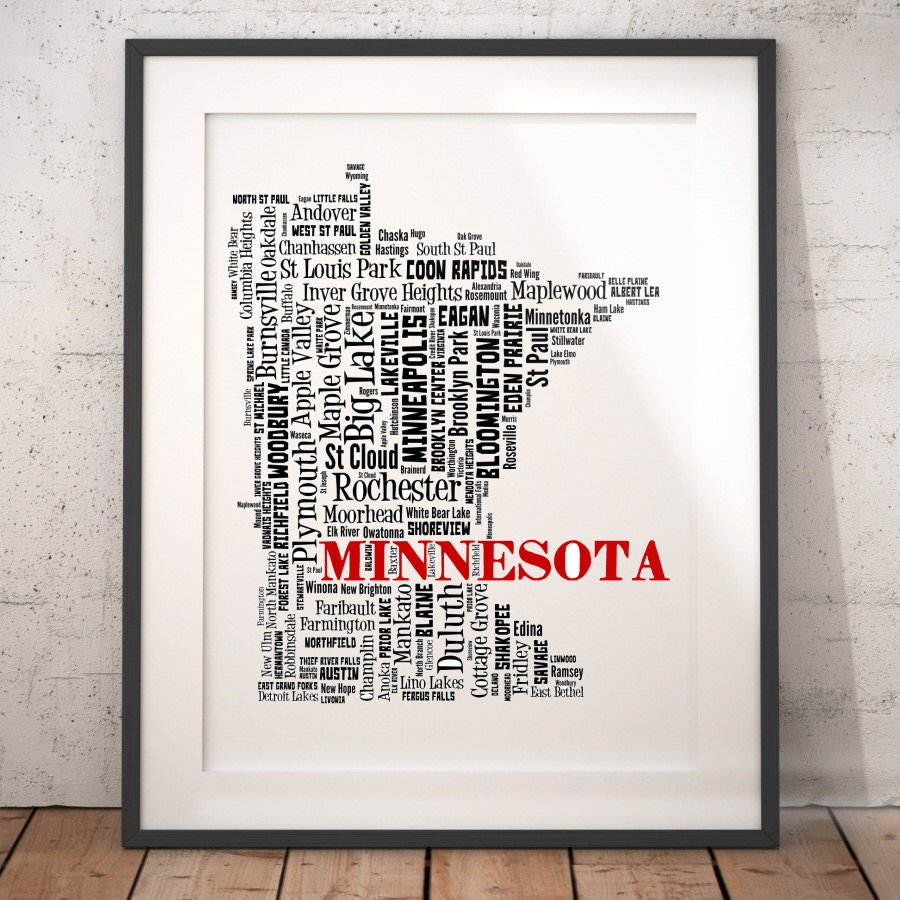 Minnesota map – Mn Travel Map