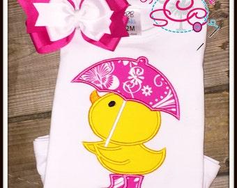 Rainy Season Duck Shirt/Bodysuit