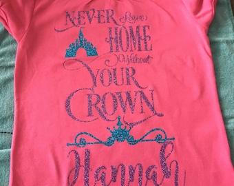 Custom Princess Girl's Tshirt