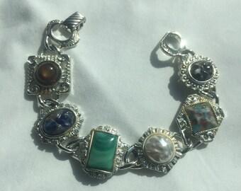 Vintage Designer Sarah Coventry Fancy Bracelet