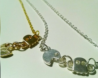 Pacman necklace