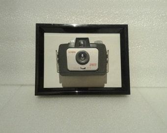 Framed Ilford Sprite - Vintage camera