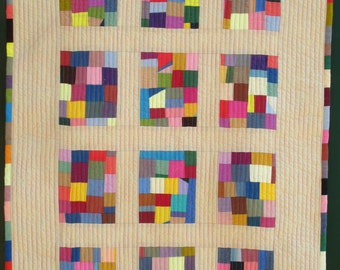 Modern Baby quilt (free postage to Australian addresses)