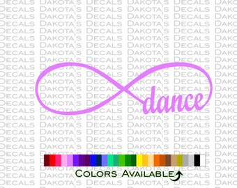 Dance Infinity Loop Decal