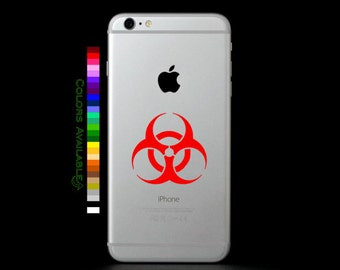 Biohazard Phone Decal