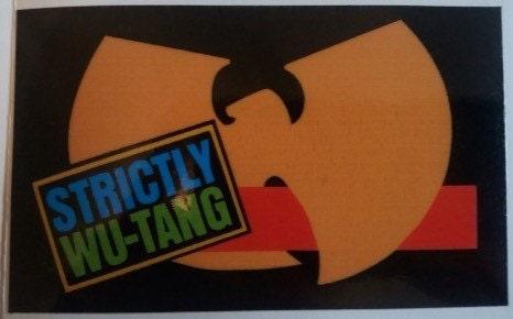 Wu Tang Clan Vinyl Sticker Hip Hop Decal Epmd Cream Method
