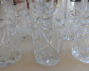 ELEVEN WATER or Highball GLASSES