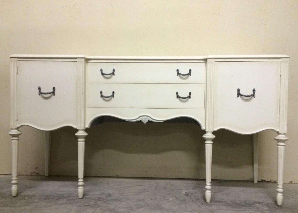 Custom Bath Vanity Buffet Server Mahogany Sideboard Cabinet