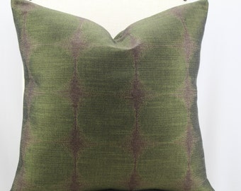 Designer fabric,pillow cover, accent pillow,throw pillow,decorative pillow,same fabric on front and back.