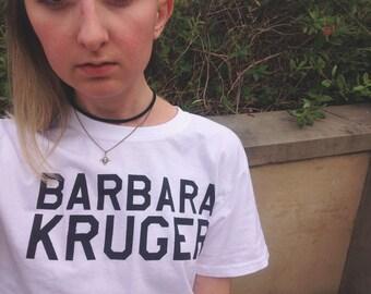 Barbara Kruger tshirt