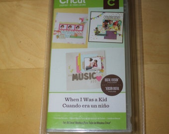 When I Was a Kid NEW Cricut Cartridge
