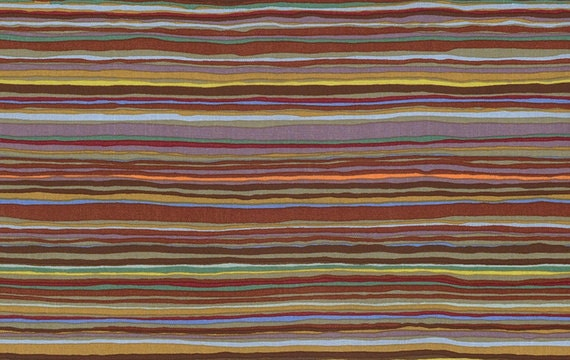 STRATA in BROWN GP150 Kaffe Fassett Sold in 1/2 yd increments