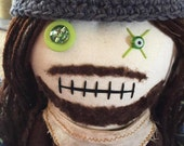 "Creepy n Cute Zombie Doll - ""Jesus"" - Inspired by TWD (D)"