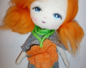 cloth doll,art doll, girl gift