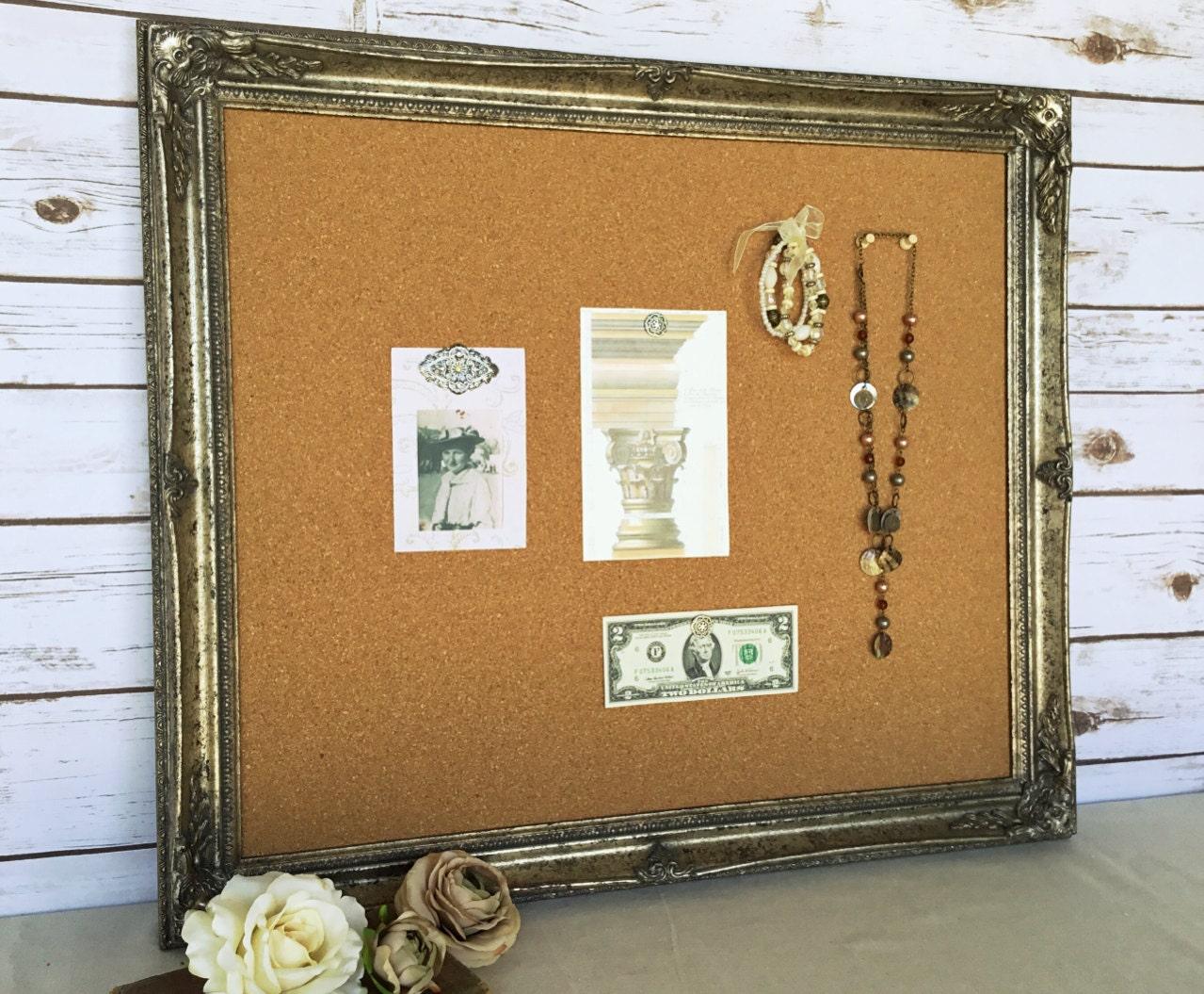 large cork board framed cork board bulletin by. Black Bedroom Furniture Sets. Home Design Ideas