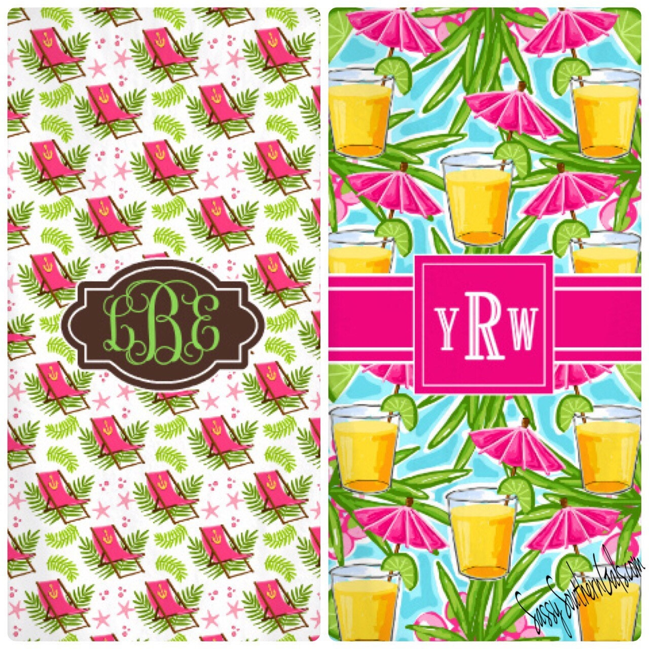 Monogrammed Beach Towel Personalized Beach By