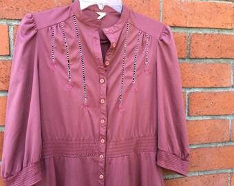 60s mauve dress