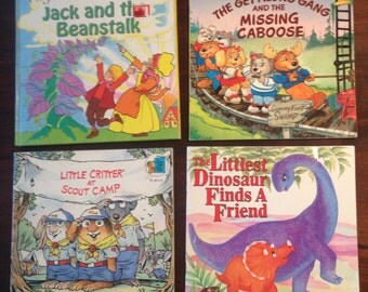 Collection of Vintage Children's Books, 80's