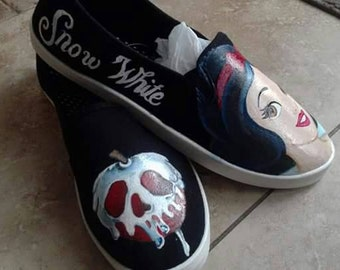 Snow White shoes Adult sizes 7-10