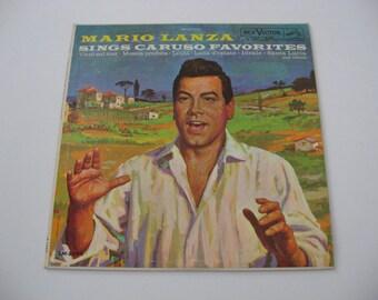 Mario Lanza - Sings Caruso Favorites - 1960  (Record)