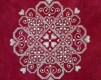 Sweet Hearts PDF chart by Northern Expressions Needlework