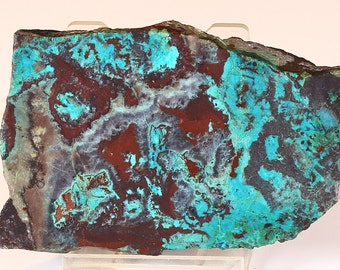Beautiful Red And Blue/Green Sonora Sunset Slab