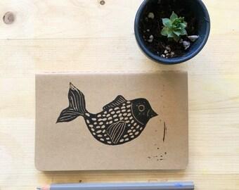 Birdfish Moleskine Notebook