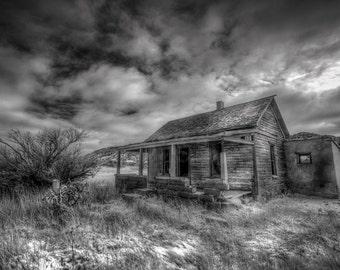 Abandoned New Mexico - Fine Art Photography - Black & White
