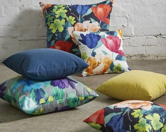Tuileries, Floral Cushion Covers. Pillow Covers