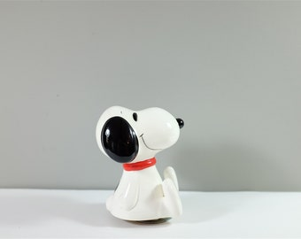 Vintage Snoopy Schmid spinning music box 1966 - Schmid music box - Made in Japan