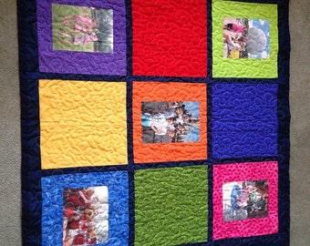 Photo album quilt