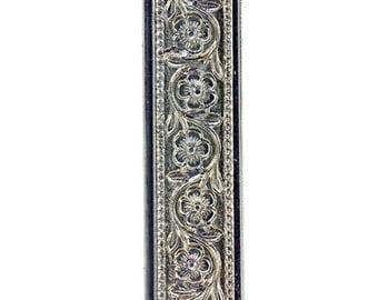 Nickle Silver Pattern Wire- Flower Chain .51x7.94mm- 3 Foot Piece (NPW306)