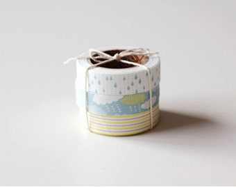 Fabric Tape Set of 3pieces [ cloud ]