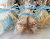 Starfish Soap Favors - Set of 10 - Beach Party Favors - Beach Wedding Favors - Beach Shower Favors - Under the Sea Party Favors