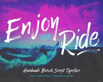 Enjoy the Ride - Typeface