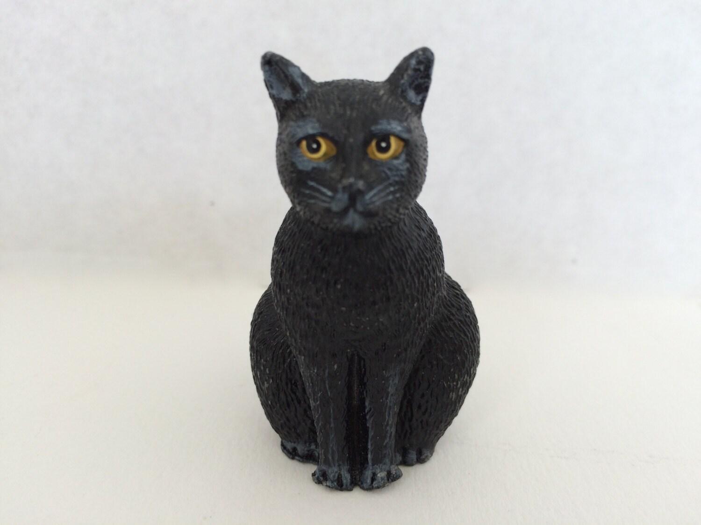 Martin Leman Feller Black Pewter Cat Dept 56