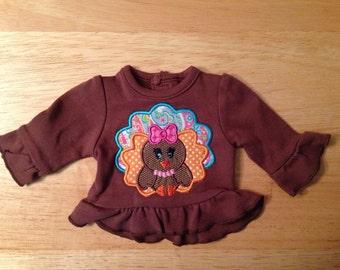 Turkey shirt for American Girl doll