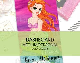 Filofax Kikki K Printable Dashboard Personal Medium Size