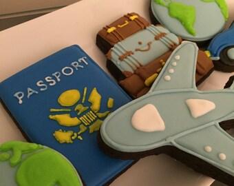 Travel cookie set