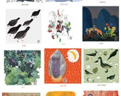 2016 wall calendar. Animal life