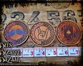 Steampunk Badge - Patch - Merit Badge
