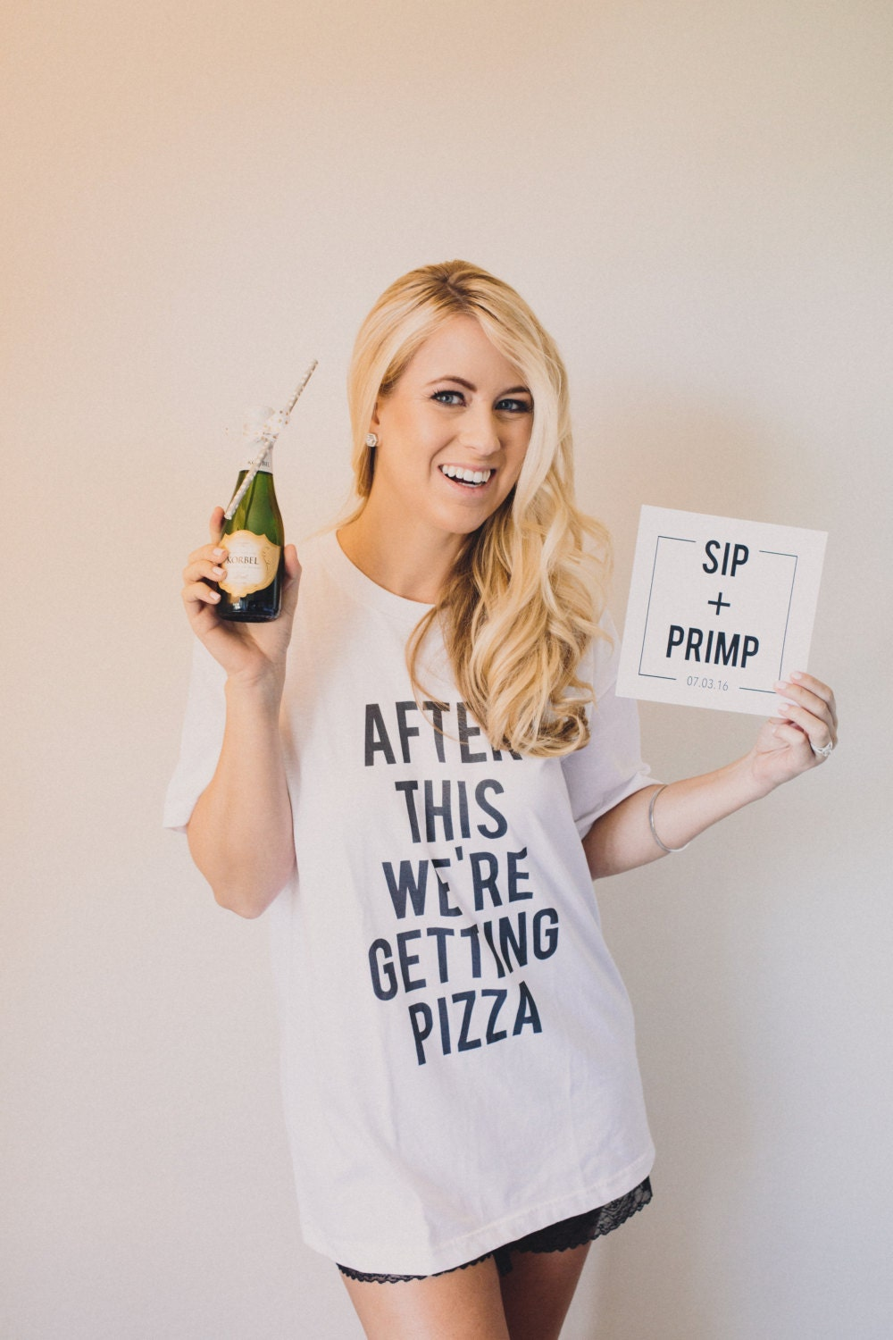 After This We're Getting Pizza T-Shirt Bridesmaid