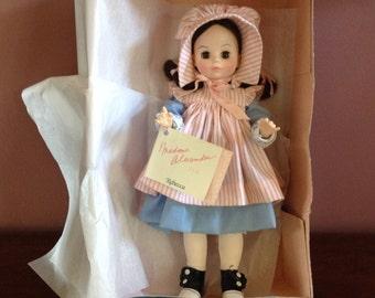 Vintage 1980s Madame Alexander Rebecca of Sunnybrook Farm Doll No.1586
