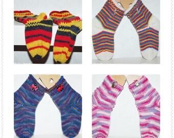 knit socks wool socks child socks knitted wool socks warm feet socks