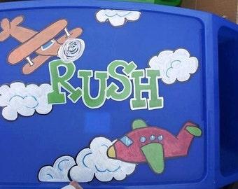 Airplane Personalized Lap Tray, Custom Lap Desks