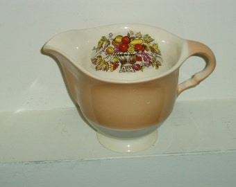 Vintage Limoges Creamer - Candle Light - Made in the USA - Vintage China