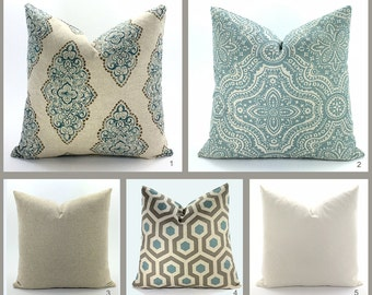 Pillow Covers - Many Standard Sizes - Custom Sizes & Detailing Available - Designer Fabric!